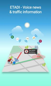 ETADI 24h audio news & maps, navigation, traffic (Unreleased) poster