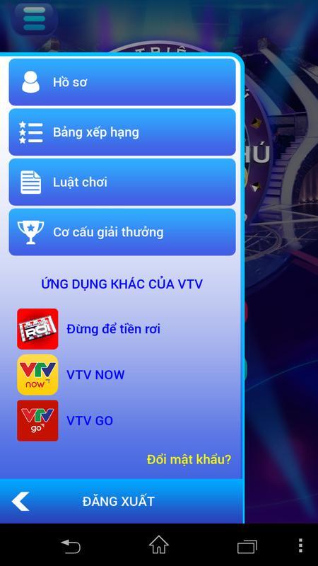 ... Ai là triệu phú VTV apk screenshot ...