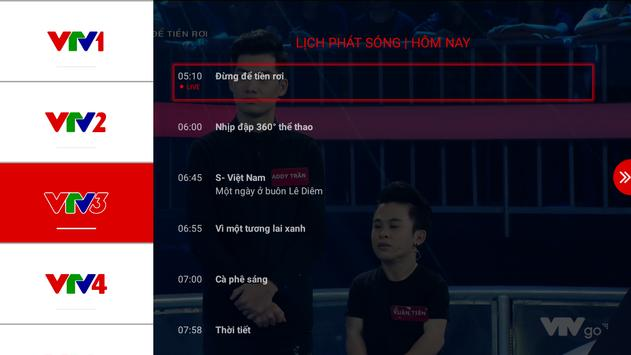 Schermata apk VTV Go cho TV Thông minh