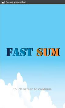 Fast Sum poster