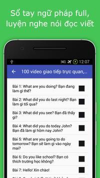 Học tiếng anh -  Luyện nghe apk screenshot