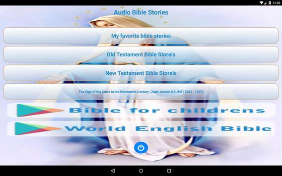 ♱ Audio Bible Stories apk screenshot