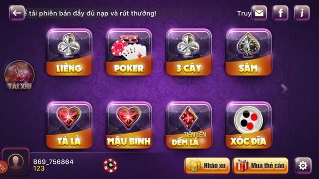 Danh Bai Doi Thuong - Cá Kiếm screenshot 2