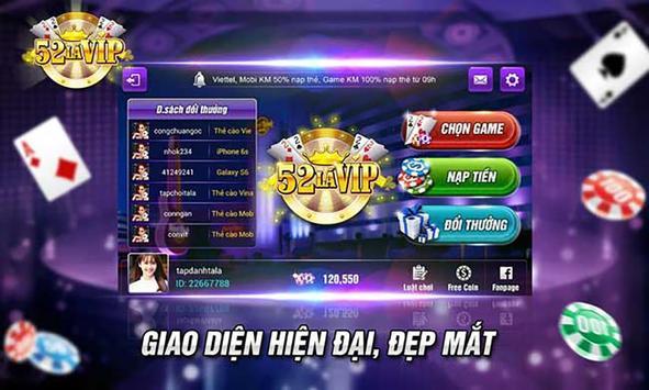 Danh Bai Online, Game Danh Bai BigVip poster