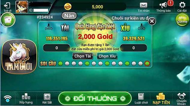 RIK TIP Club - Game danh bai doi thuong Xeng screenshot 1
