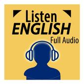 Listen English Full Audio icon