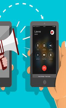 Voice changer calling pro screenshot 10