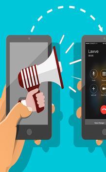 Voice changer calling pro screenshot 1