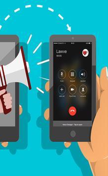 Voice changer calling pro screenshot 2