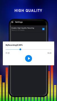 Enregistreur vocal capture d'écran 3
