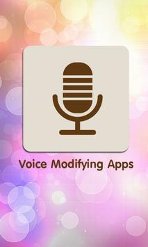 Voice Modifying Apps poster