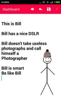 Be like Bill Generator screenshot 2
