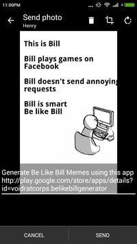 Be like Bill Generator screenshot 4