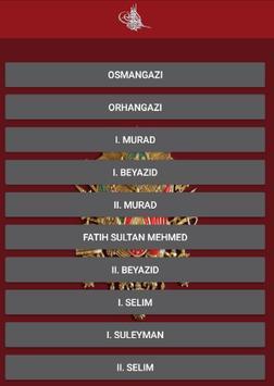 Osmanlı Padişahları Hayatları screenshot 1