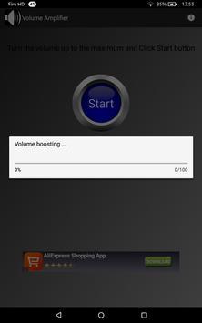 Volume Amplifier Booster x2 apk screenshot