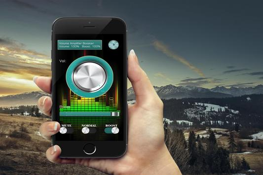 Volume booster for android apk screenshot