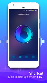 Volume Booster with Loud Effects, Sound Equalizer screenshot 1