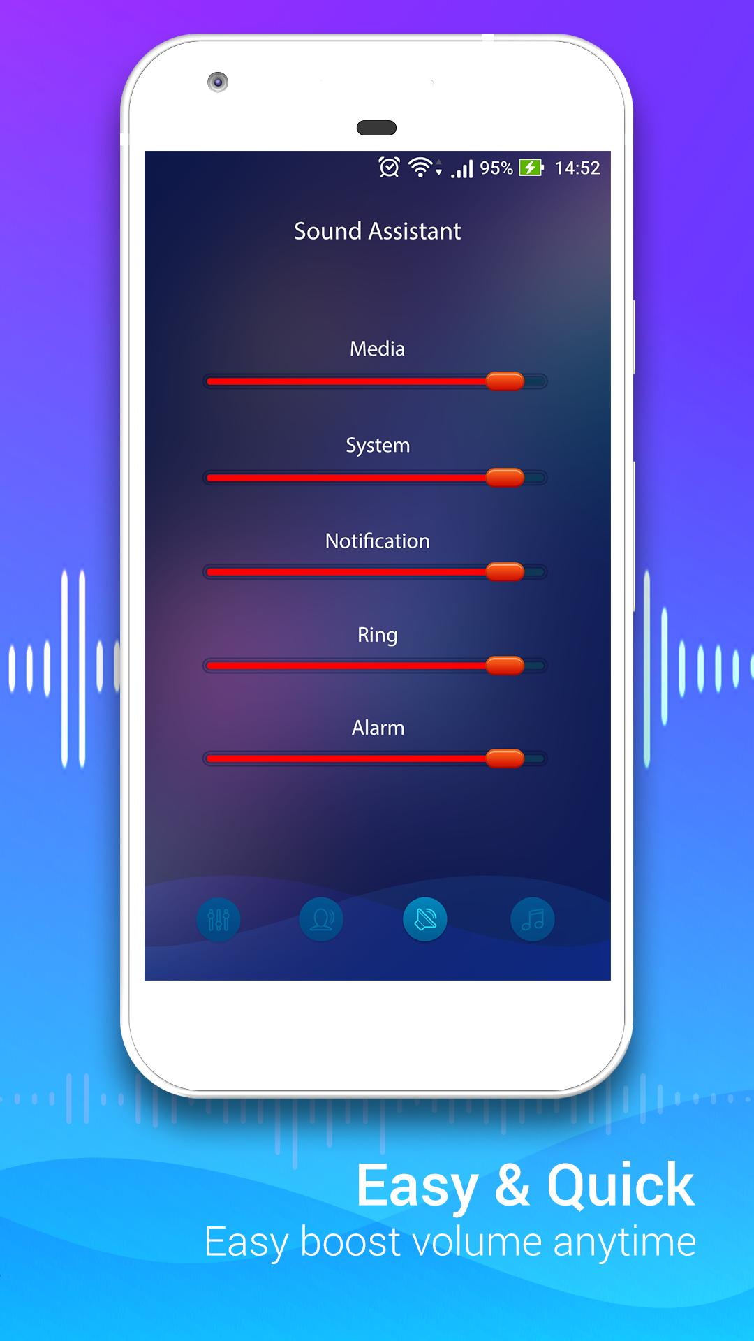 Volume Booster with Loud Effects, Sound Equalizer for Android - APK