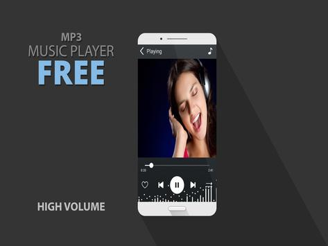 music player with high volume poster