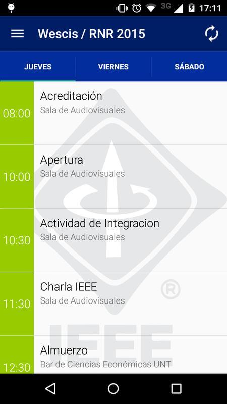 IEEE Wescis/RNR 2015 Tucumán Descarga APK - Gratis Libros y obras de ...