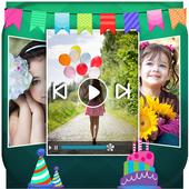 Birthday Movie Maker icon