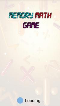 Memory Math Game poster