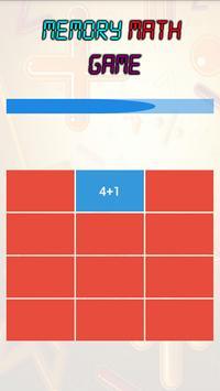 Memory Math Game screenshot 2