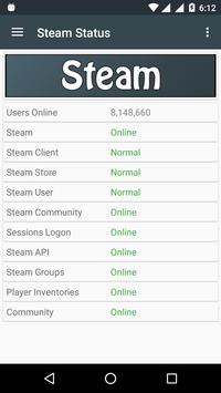 Server Status for Steam for Android - APK Download