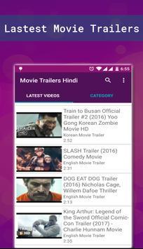 HD Movie trailer apk screenshot