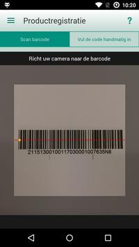 Vaillant Barcode Scanner screenshot 1
