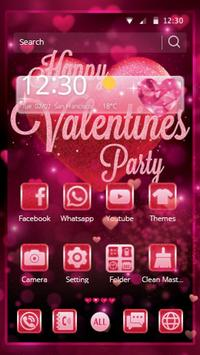 Valentine Amour Pink Theme poster