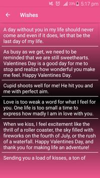 Valentines Wishes screenshot 2