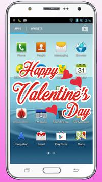 Valentines Day Gift love Move on Screen Wallpaper screenshot 3