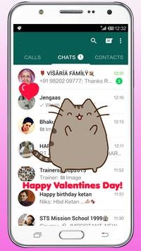 Valentines Day Gift love Move on Screen Wallpaper screenshot 1