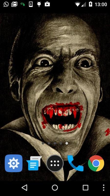 Vampire Live Wallpaper Poster Screenshot 1