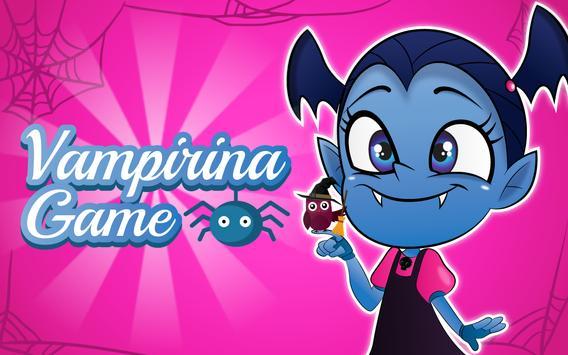 Vampirin: halloween games for kids poster