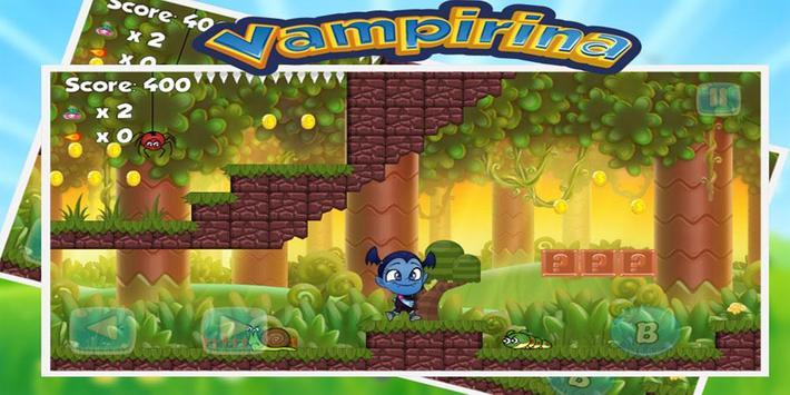 super vampirerina games 💖 adventure poster