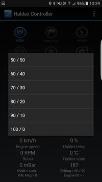 Haldex Controller screenshot 2