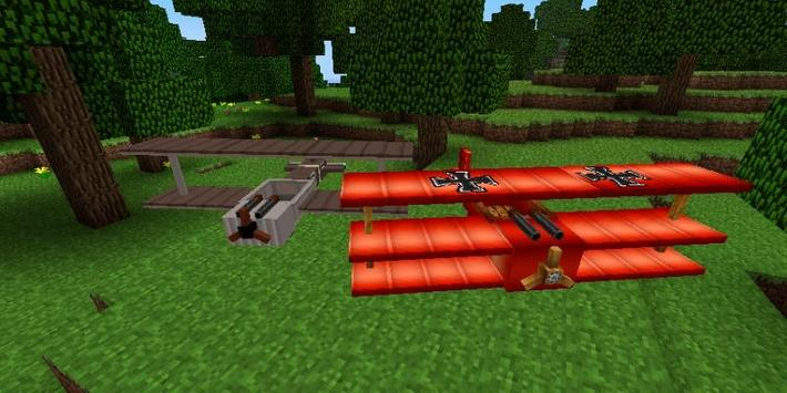 Planes Mod For Minecraft poster