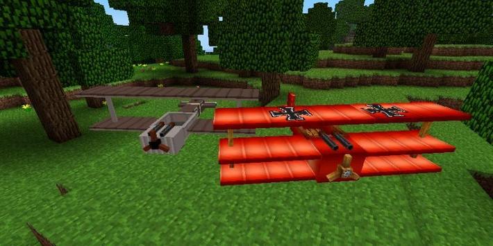Planes Mod For Minecraft apk screenshot