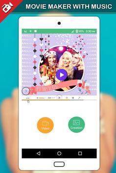 Movie Maker with Music screenshot 5