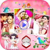 Anniversary Photo Video Maker icon