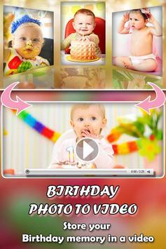 Birthday Photo Video Maker screenshot 2