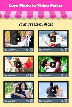 Love Photo Video Maker screenshot 4