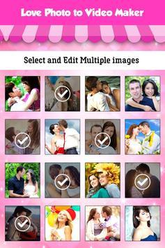 Love Photo Video Maker screenshot 6