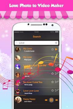 Love Photo Video Maker new apk screenshot
