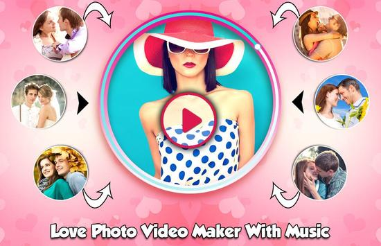 Love Photo Video Maker new poster