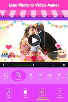 Love Photo Video Maker screenshot 1