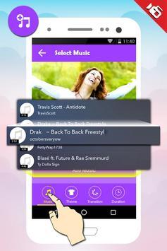 Photo Video Maker with Music screenshot 3