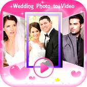 Wedding Photo Video Transition icon
